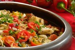 Traditional Bulgarian Meal Stock Photos