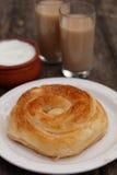 Traditional Bulgarian pastry Banitsa Royalty Free Stock Image