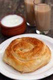 Traditional Bulgarian pastry Banitsa Stock Images