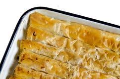 Traditional bulgarian  pastry - banitza Royalty Free Stock Photography