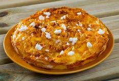Traditional Bulgarian pie Banitsa