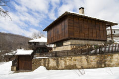 Traditional Bulgarian village house Royalty Free Stock Photos