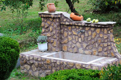 Traditional Bulgarian Washbasin Stock Photos