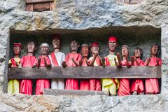 Free Traditional Burial Site In Tana Toraja Royalty Free Stock Photography - 46834677