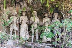 Traditional burial site in Tana Toraja Stock Photo