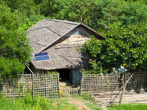 Traditional Burmese house Royalty Free Stock Image