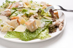 Traditional caesar salad Royalty Free Stock Photo