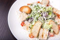 Traditional Caesar salad Stock Photos