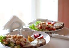 Traditional caesar salad Royalty Free Stock Image
