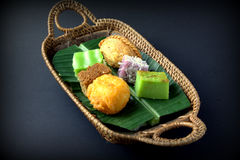 Traditional Cake of Malaysia & Indonesia Stock Photography
