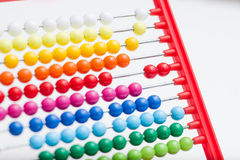 Traditional calculating abacus Royalty Free Stock Image