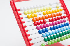 Traditional calculating abacus Royalty Free Stock Photography