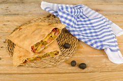 Traditional calzone Royalty Free Stock Photos