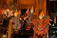 Traditional  Cambodian puppet Royalty Free Stock Images