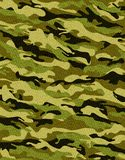Traditional camouflage. Camouflage pattern with rough realistic fabric texture Royalty Free Stock Image