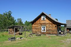 Traditional Canadian rural house Royalty Free Stock Photos