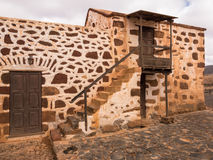 Traditional Canary Islands Farm House. Traditional Canary Islands farmhouse. La Alcogida Ecomuseum in Fuerteventura, Canary Islands Royalty Free Stock Photography