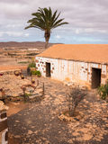 Traditional Canary Islands Farm House. Traditional Canary Islands farmhouse. La Alcogida Ecomuseum in Fuerteventura, Canary Islands Royalty Free Stock Photo
