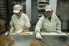 Traditional candy makers Royalty Free Stock Images