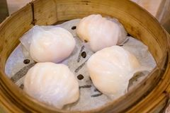 Traditional Cantonese shrimp dumpling royalty free stock photography