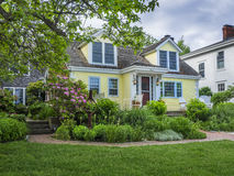 Traditional Cape Cod cottage Royalty Free Stock Image