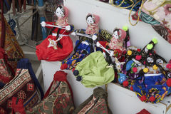 Traditional Cappadocia Rag Dolls Royalty Free Stock Photography