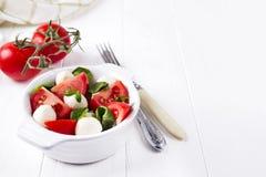 Traditional caprese salad Stock Image