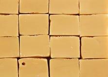 traditional caramel fudge Stock Photos
