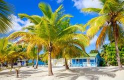 Traditional caribbean houses Stock Photos