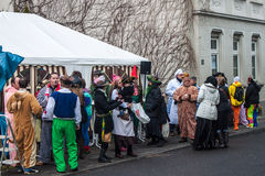 Traditional carnival in Bonn Royalty Free Stock Photography