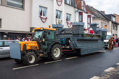 Traditional carnival in Bonn, Royalty Free Stock Photo