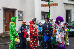 Traditional carnival in Bonn Stock Images
