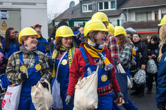 Traditional carnival in Bonn Stock Image
