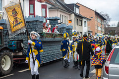 Traditional carnival in Bonn Royalty Free Stock Photo