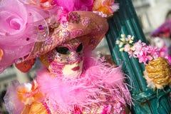 Carnival of Venice stock photo