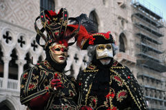 Traditional carnival Venice mask Stock Photos