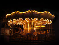 Traditional carousel empty Stock Image