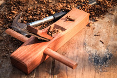 Traditional carpentry tool Stock Photography