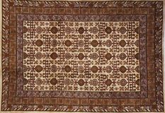 Traditional carpet pattern material texture Stock Image