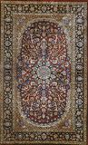 Traditional carpet pattern material texture Royalty Free Stock Image