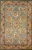 Traditional carpet pattern material texture Royalty Free Stock Photo
