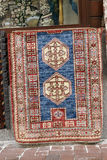 Traditional carpets in street,Istanbul. Royalty Free Stock Photo