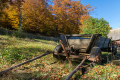 Traditional carriage from east Europe Royalty Free Stock Photos