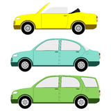 Traditional Cars Stock Image