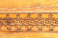 Traditional carved wood Royalty Free Stock Image