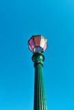 Traditional cast iron lamppost, Venice, Italy Royalty Free Stock Photo