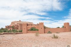 Traditional castle in morocco Stock Photo