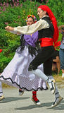 Traditional Catalan Dancers Stock Images