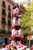 Traditional Catalan show Stock Image