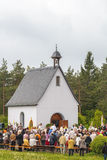 Traditional Catholic Procession in rural Bavaria Stock Image